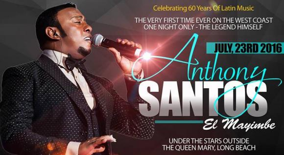 Anthony Santos at Radio City Music Hall