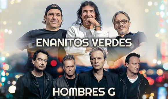 Enanitos Verdes & Hombres G at Radio City Music Hall