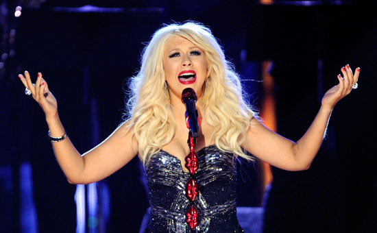Christina Aguilera at Radio City Music Hall