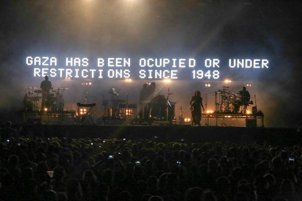 Massive Attack at Radio City Music Hall