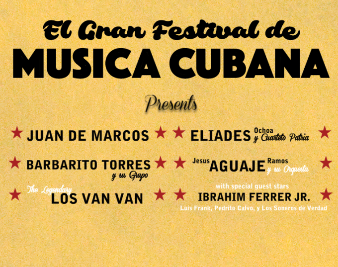 El Gran Festival de Musica Cubana at Radio City Music Hall