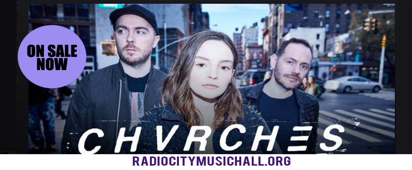 Chvrches at Radio City Music Hall