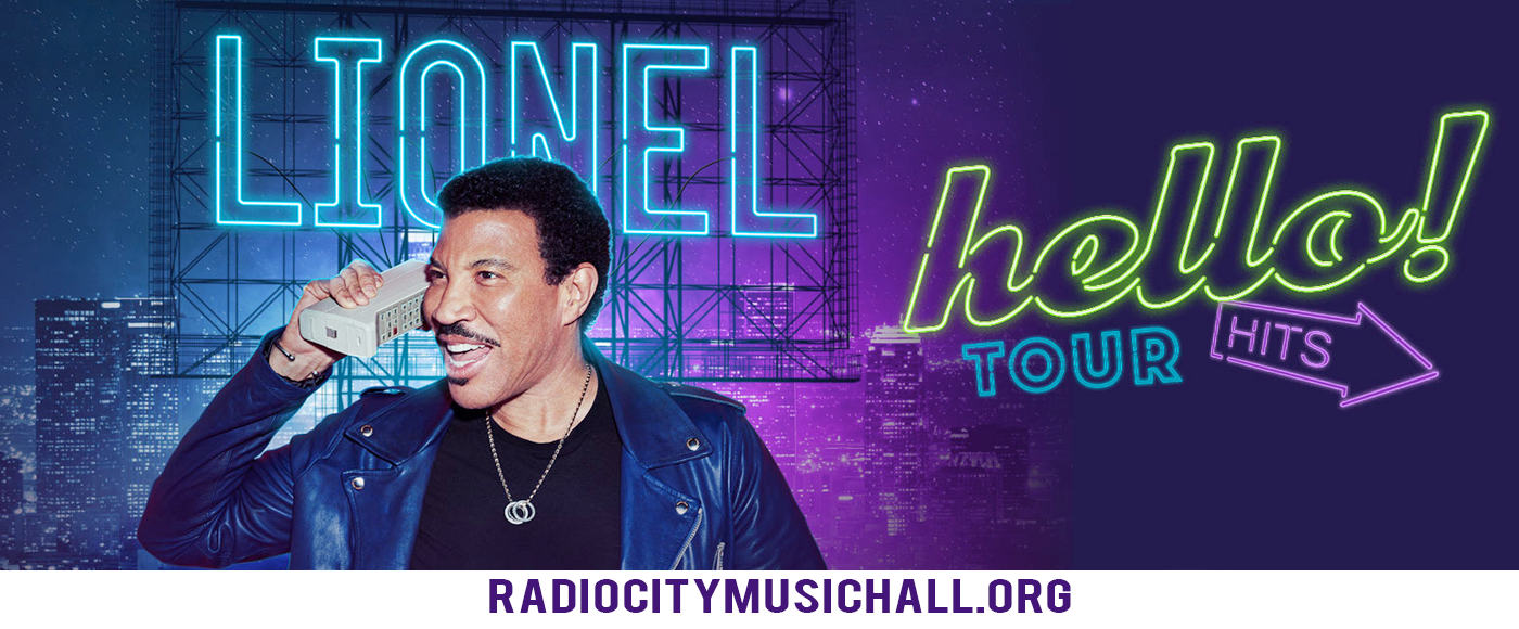 Lionel Richie at Radio City Music Hall