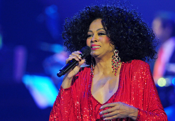Diana Ross at Radio City Music Hall