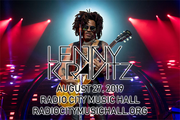 Lenny Kravitz at Radio City Music Hall