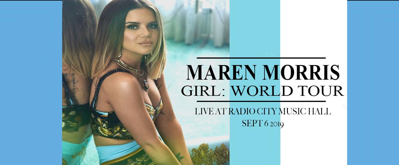 Maren Morris at Radio City Music Hall