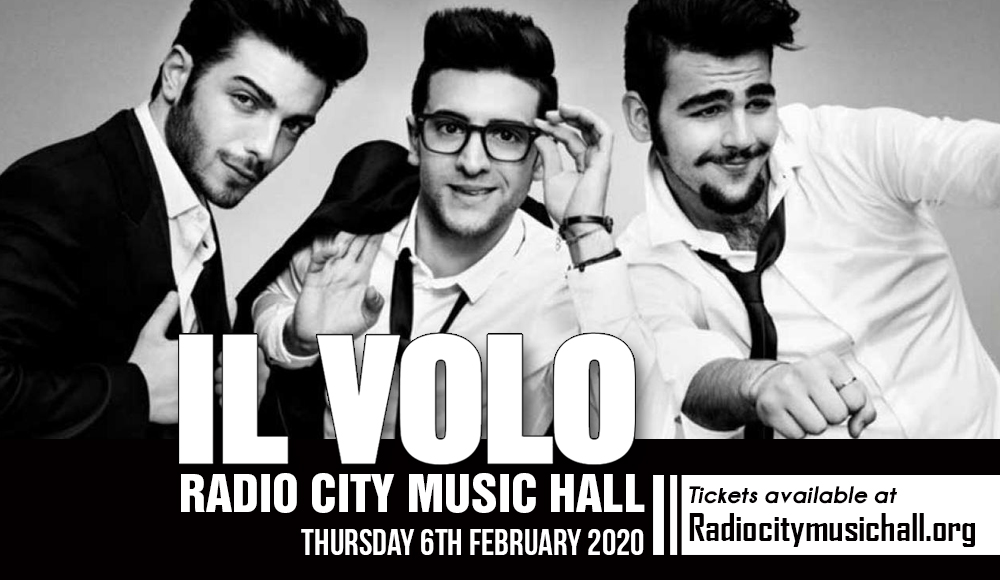 Il Volo at Radio City Music Hall
