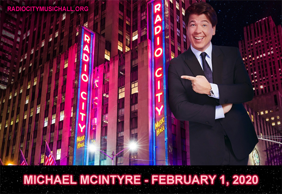 Michael McIntyre at Radio City Music Hall