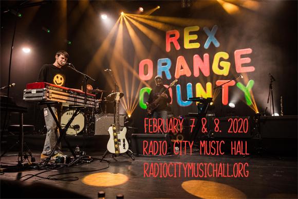 Rex Orange County at Radio City Music Hall