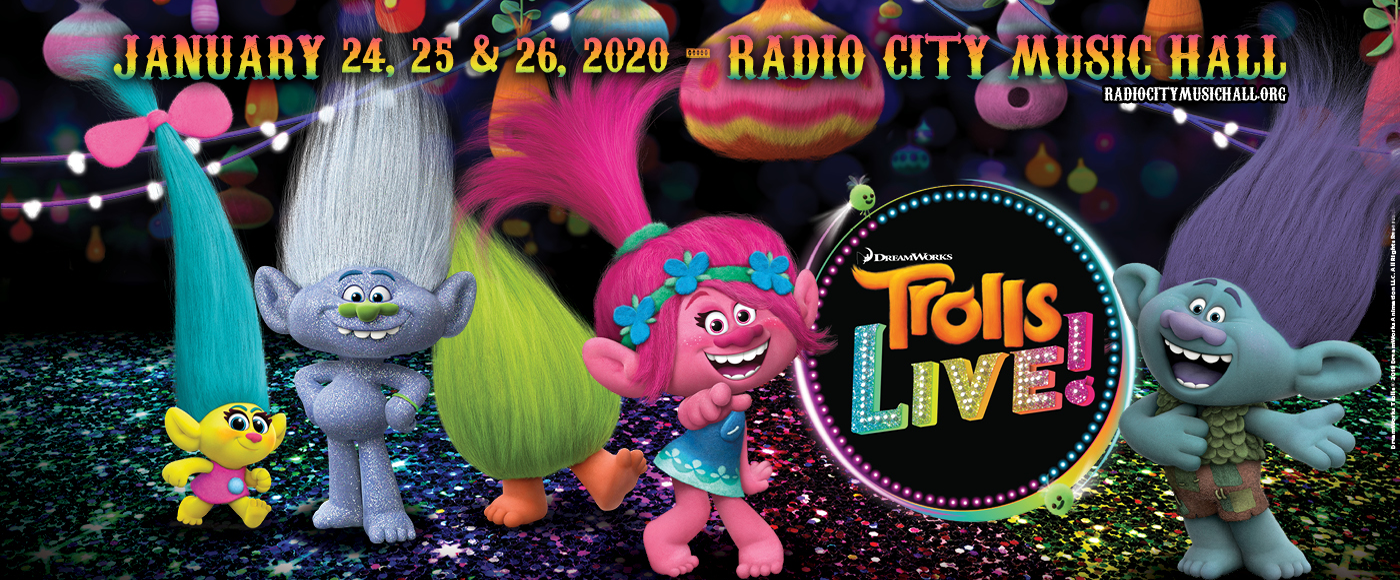 Trolls Live! at Radio City Music Hall