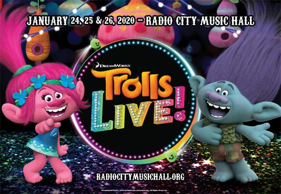 Trolls Live! at Radio City Music Hall