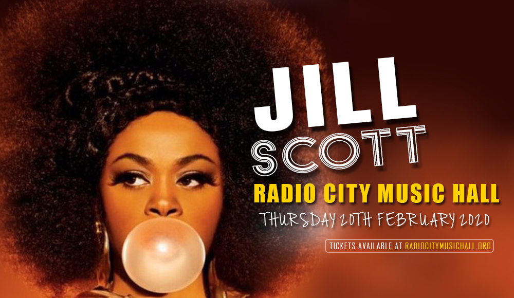 Jill Scott at Radio City Music Hall
