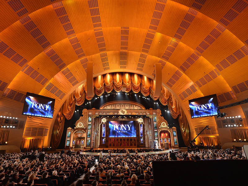 Tony Awards at Radio City Music Hall