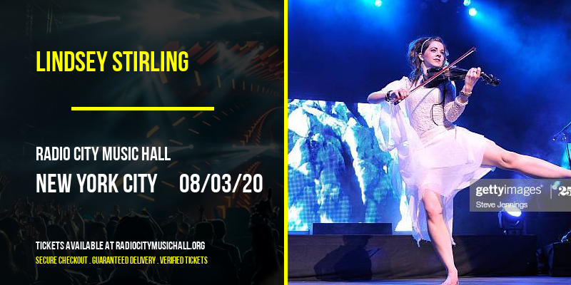 Lindsey Stirling at Radio City Music Hall