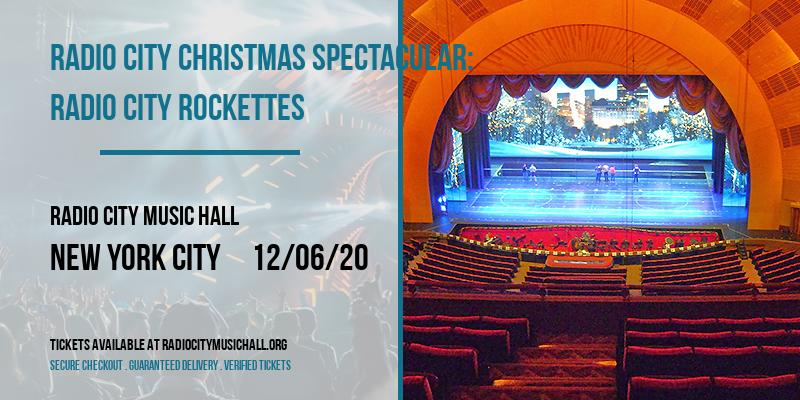 Radio City Christmas Spectacular: Radio City Rockettes at Radio City Music Hall