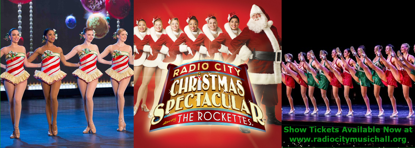 The Rockettes Tickets Radio City Music Hall