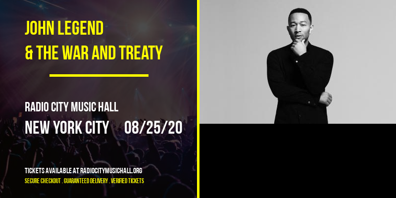 John Legend & The War and Treaty at Radio City Music Hall