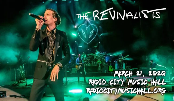 The Revivalists at Radio City Music Hall