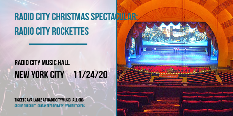 Radio City Christmas Spectacular: Radio City Rockettes [CANCELLED] at Radio City Music Hall