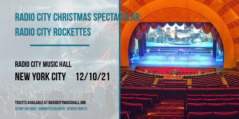 Radio City Christmas Spectacular: Radio City Rockettes [CANCELLED] at Radio City Music Hall