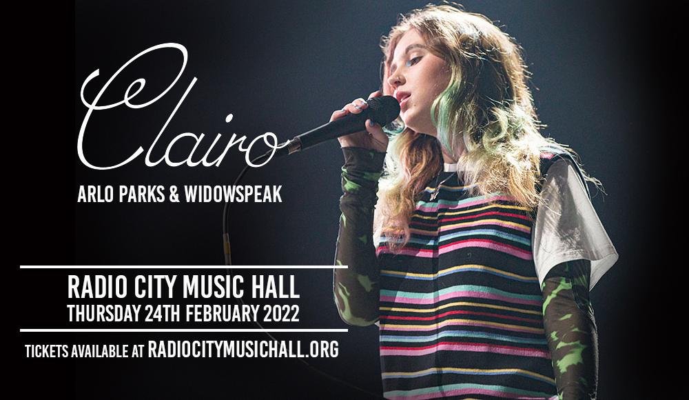 Clairo, Arlo Parks & Widowspeak at Radio City Music Hall