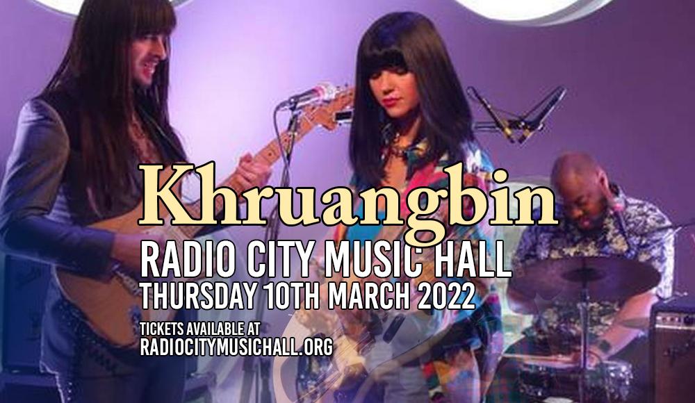 Khruangbin at Radio City Music Hall