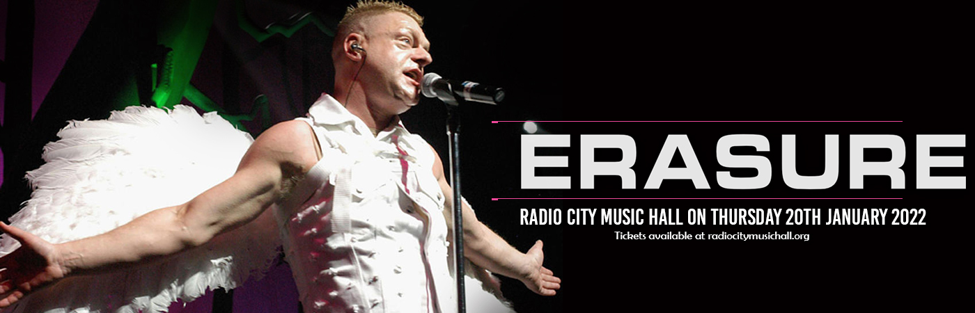 Erasure at Radio City Music Hall