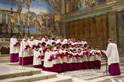 Sistine Chapel Choir at Radio City Music Hall