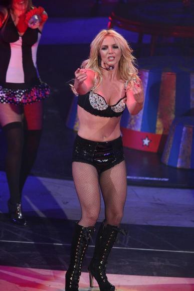 Britney Spears at Radio City Music Hall
