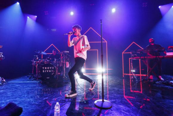 Troye Sivan at Radio City Music Hall