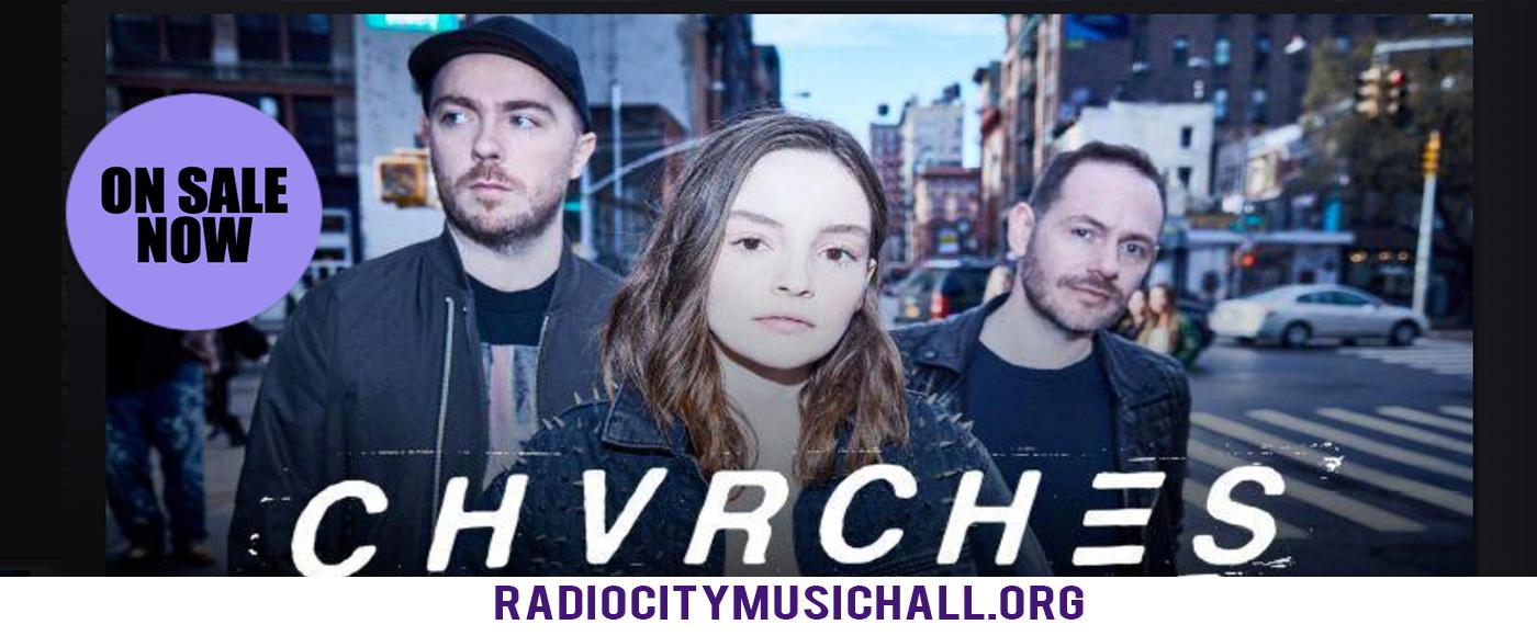 Chvrches at Radio City Music Hall
