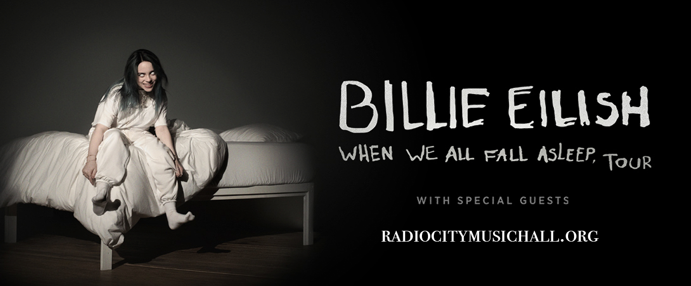 Billie Eilish at Radio City Music Hall