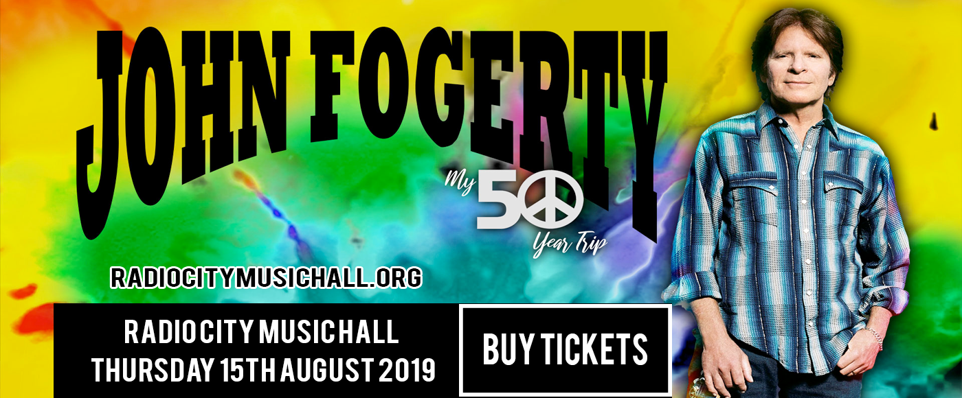 John Fogerty at Radio City Music Hall