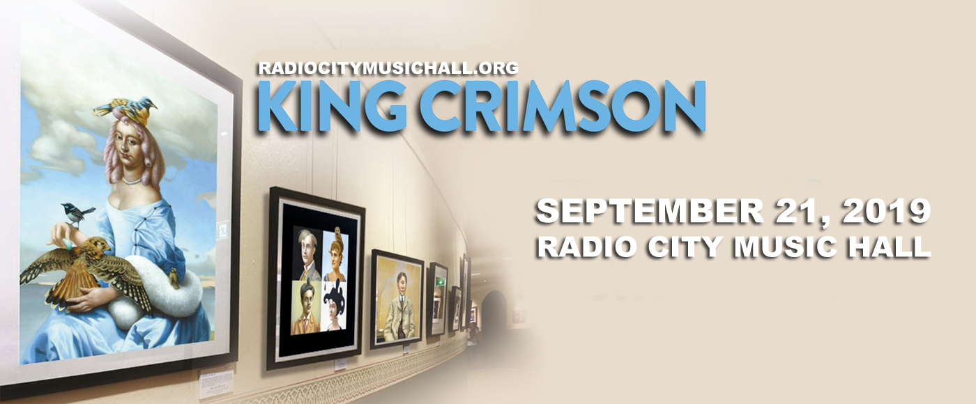 King Crimson at Radio City Music Hall