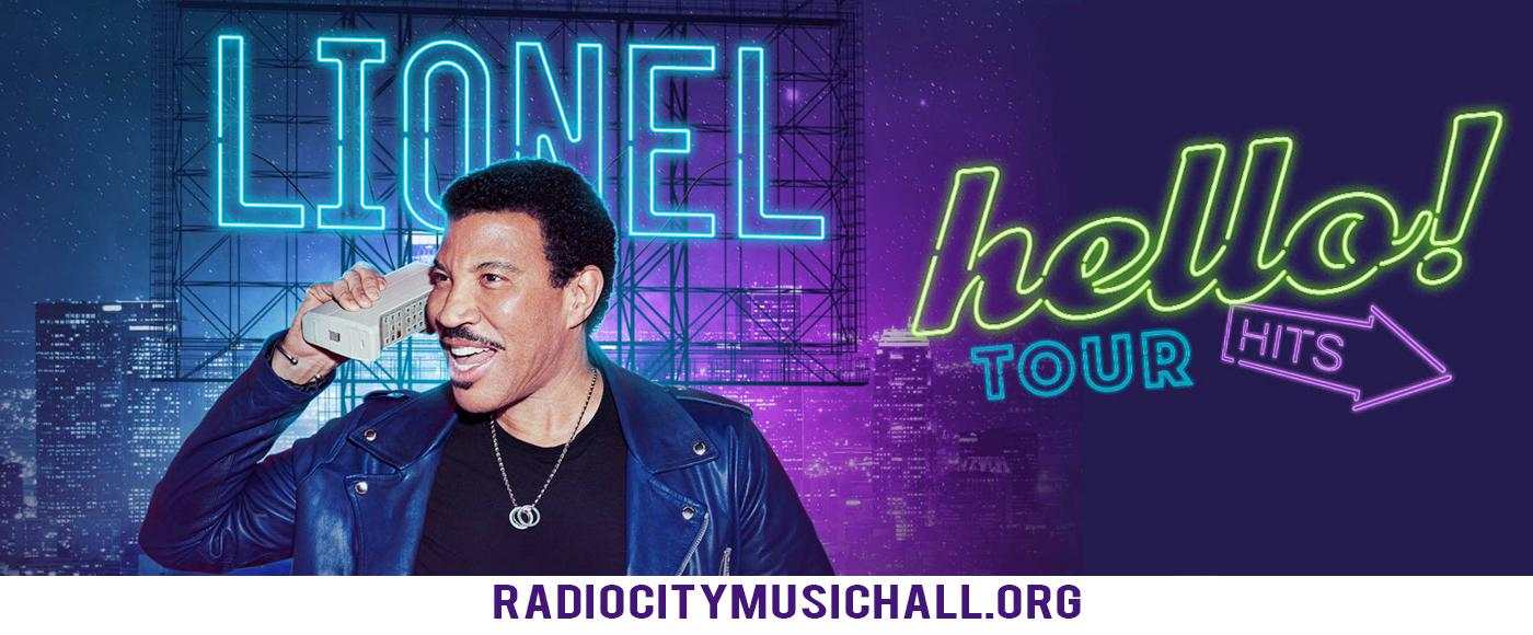 Lionel Richie at Radio City Music Hall
