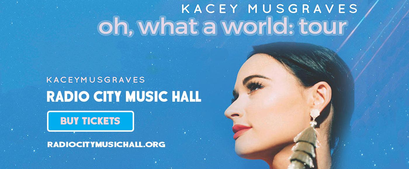 Kacey Musgraves at Radio City Music Hall