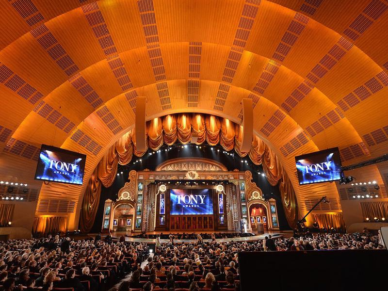 Tony Awards at Radio City Music Hall
