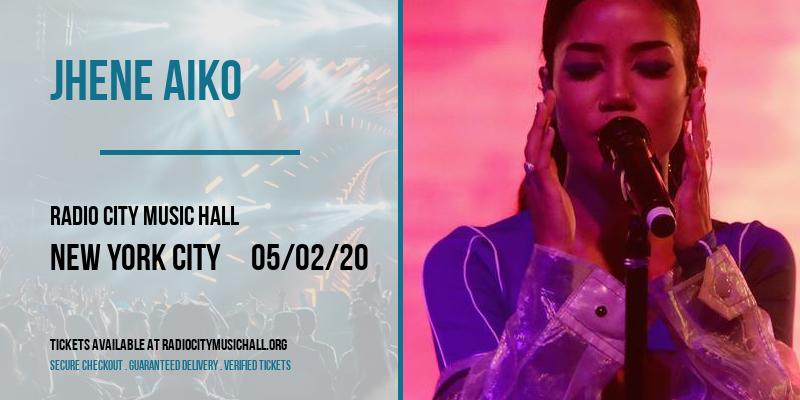 Jhene Aiko at Radio City Music Hall