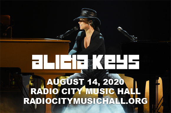 Alicia Keys at Radio City Music Hall