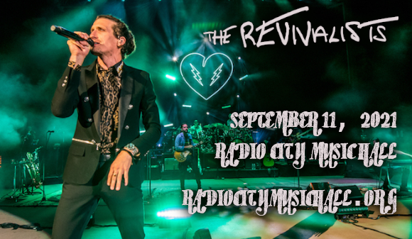 The Revivalists [CANCELLED] at Radio City Music Hall