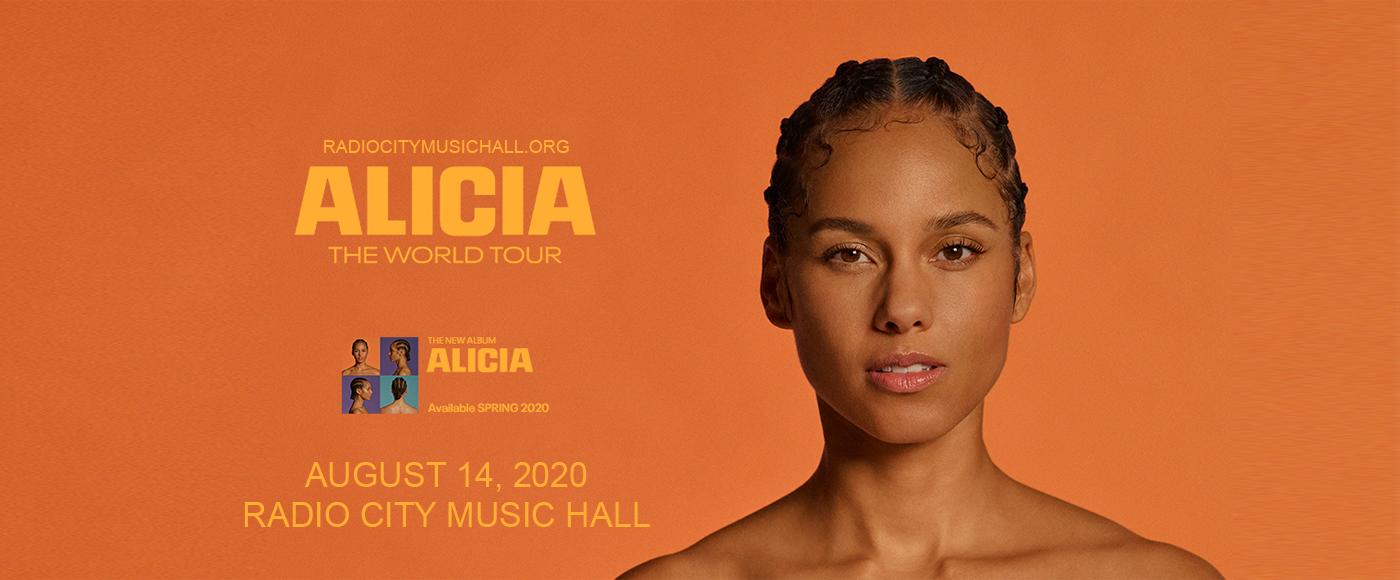 Alicia Keys [CANCELLED] at Radio City Music Hall