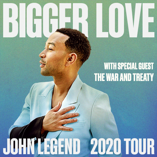 John Legend & The War and Treaty [CANCELLED] at Radio City Music Hall