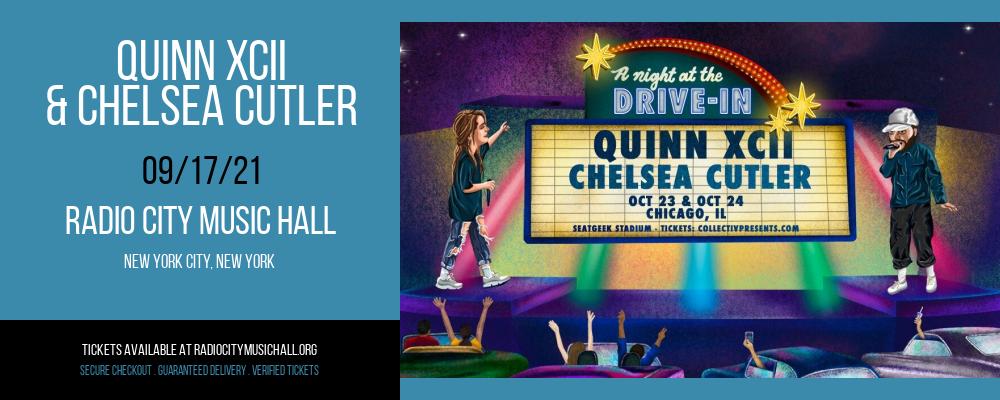 Quinn XCII & Chelsea Cutler at Radio City Music Hall