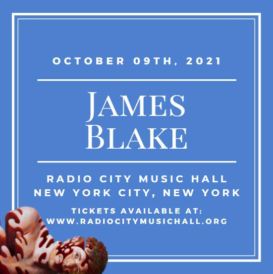 James Blake at Radio City Music Hall