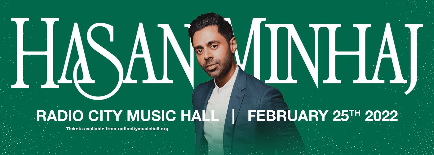 Hasan Minhaj: The Kings Jester at Radio City Music Hall