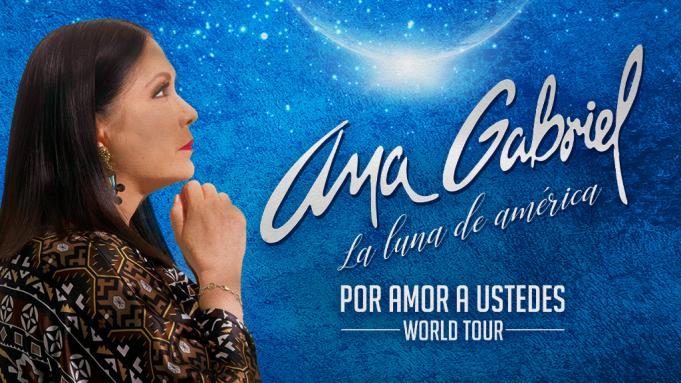 Ana Gabriel at Radio City Music Hall