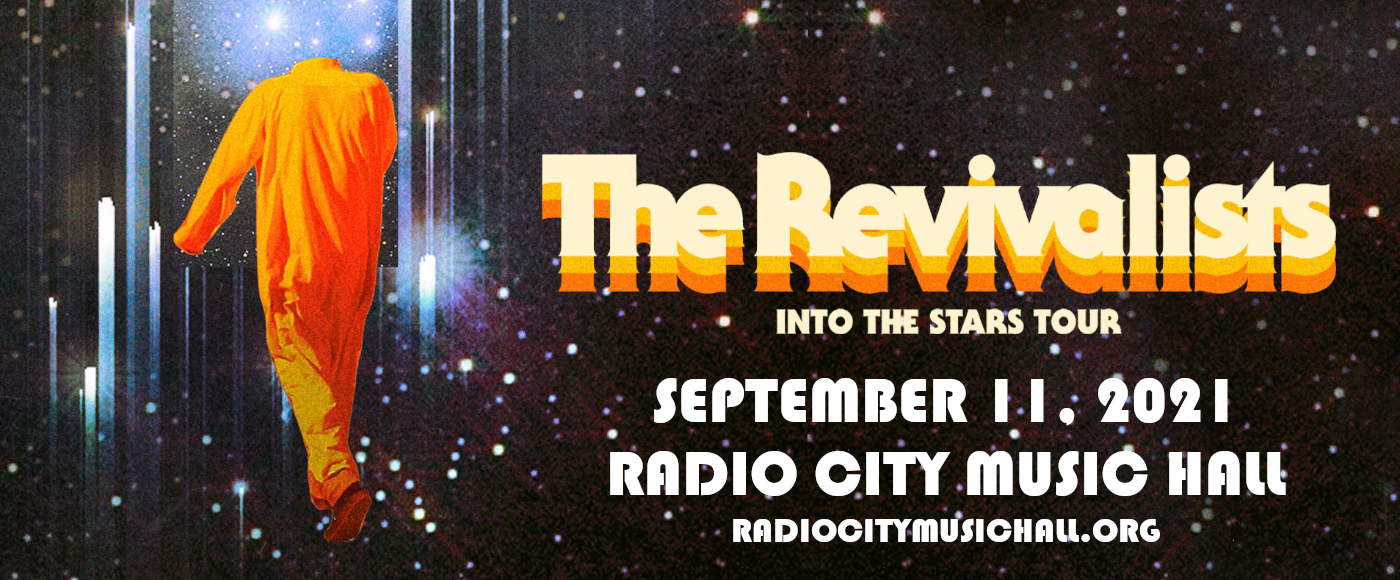 The Revivalists at Radio City Music Hall